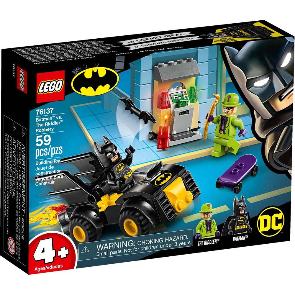 樂高LEGO 超級英雄系列 - LT76137 Batman vs. The Riddle
