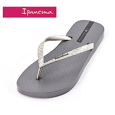 IPANEMA GLAM系列 經典炫彩人字拖鞋-灰色