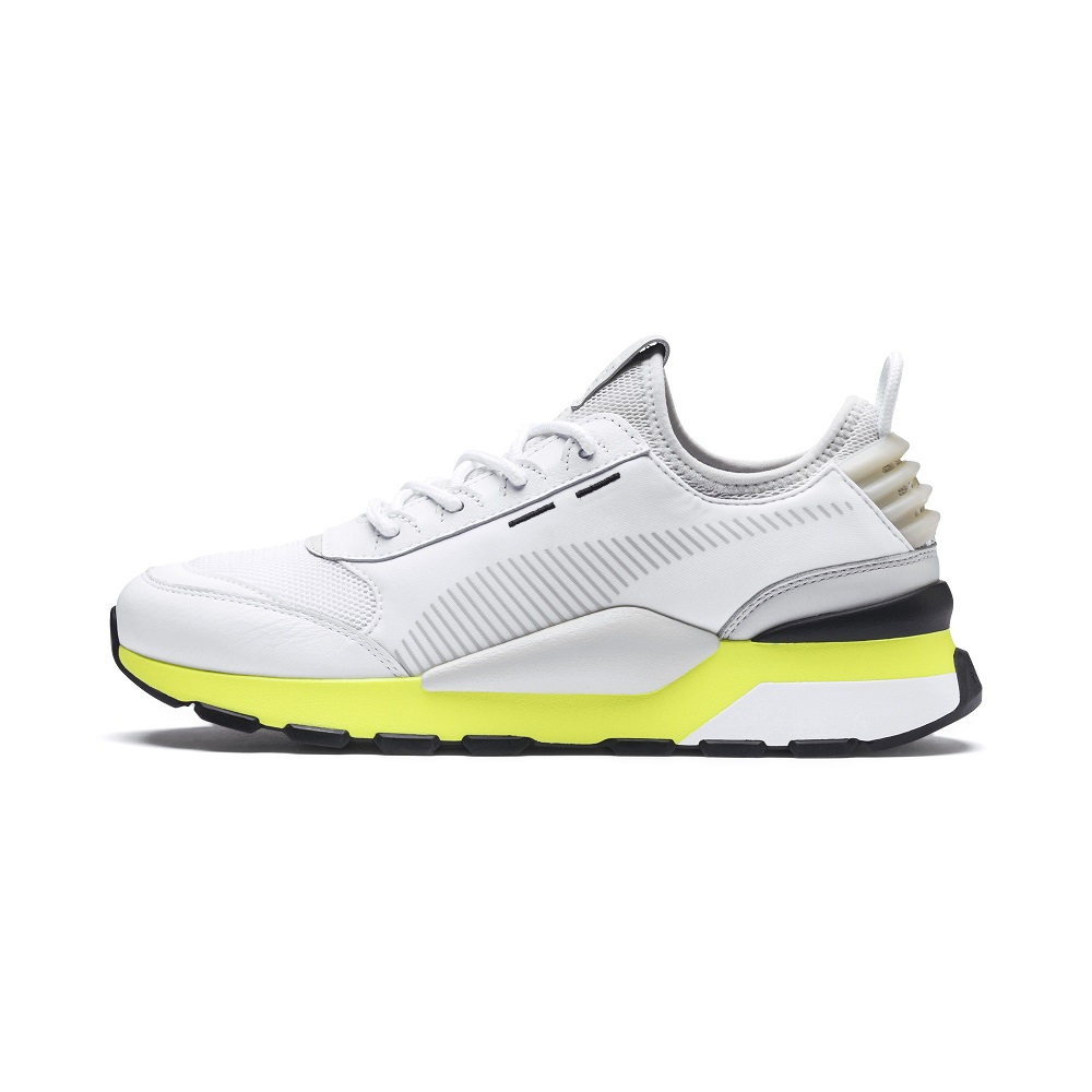 PUMA-RS-0 TRACKS 男女慢跑鞋-白色