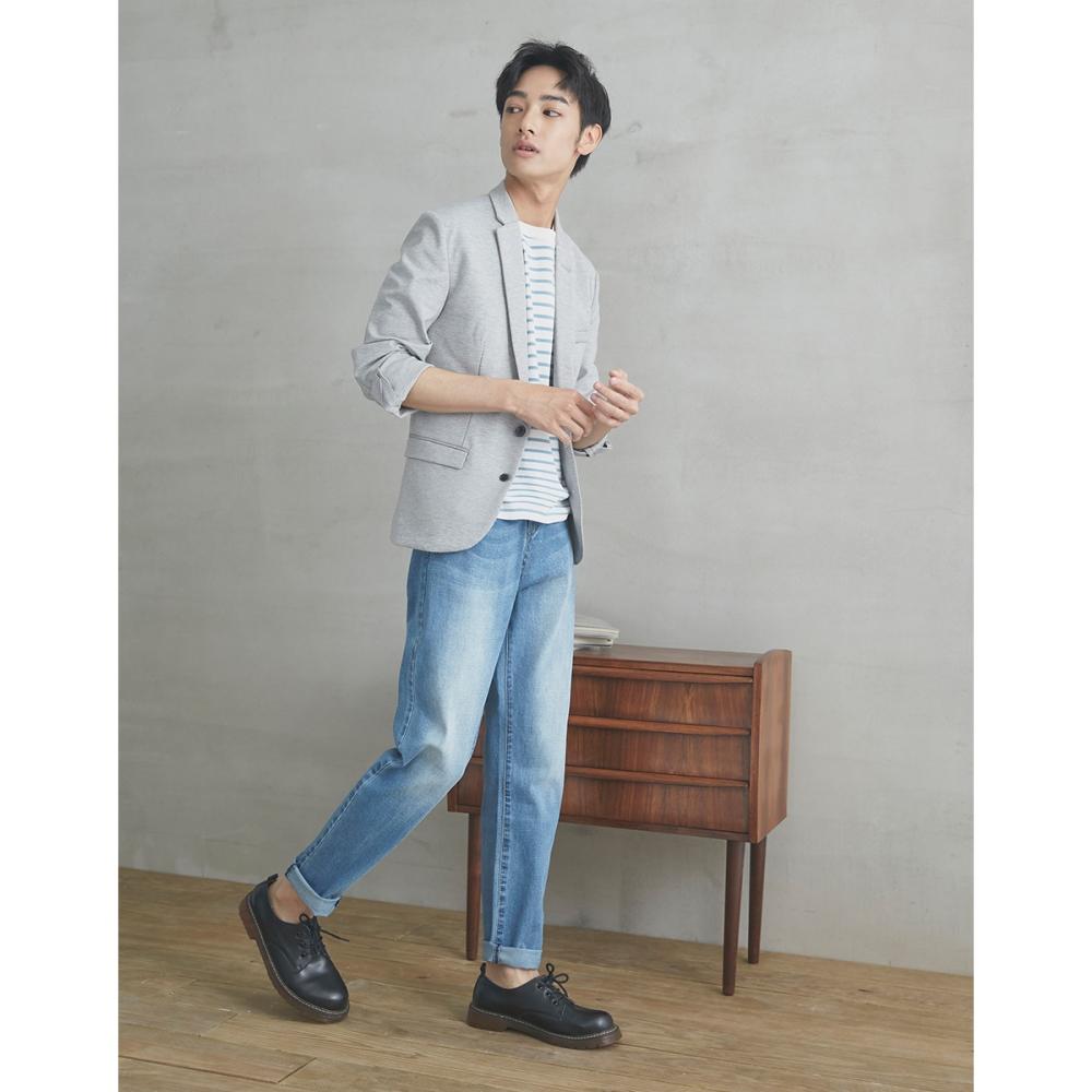 CACO-彈性修身牛仔褲(兩色)-男【SPA078】