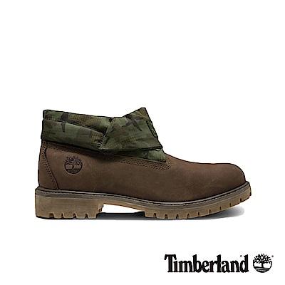 Timberland 男款戶外兩穿迷彩翻靴|A1UCN
