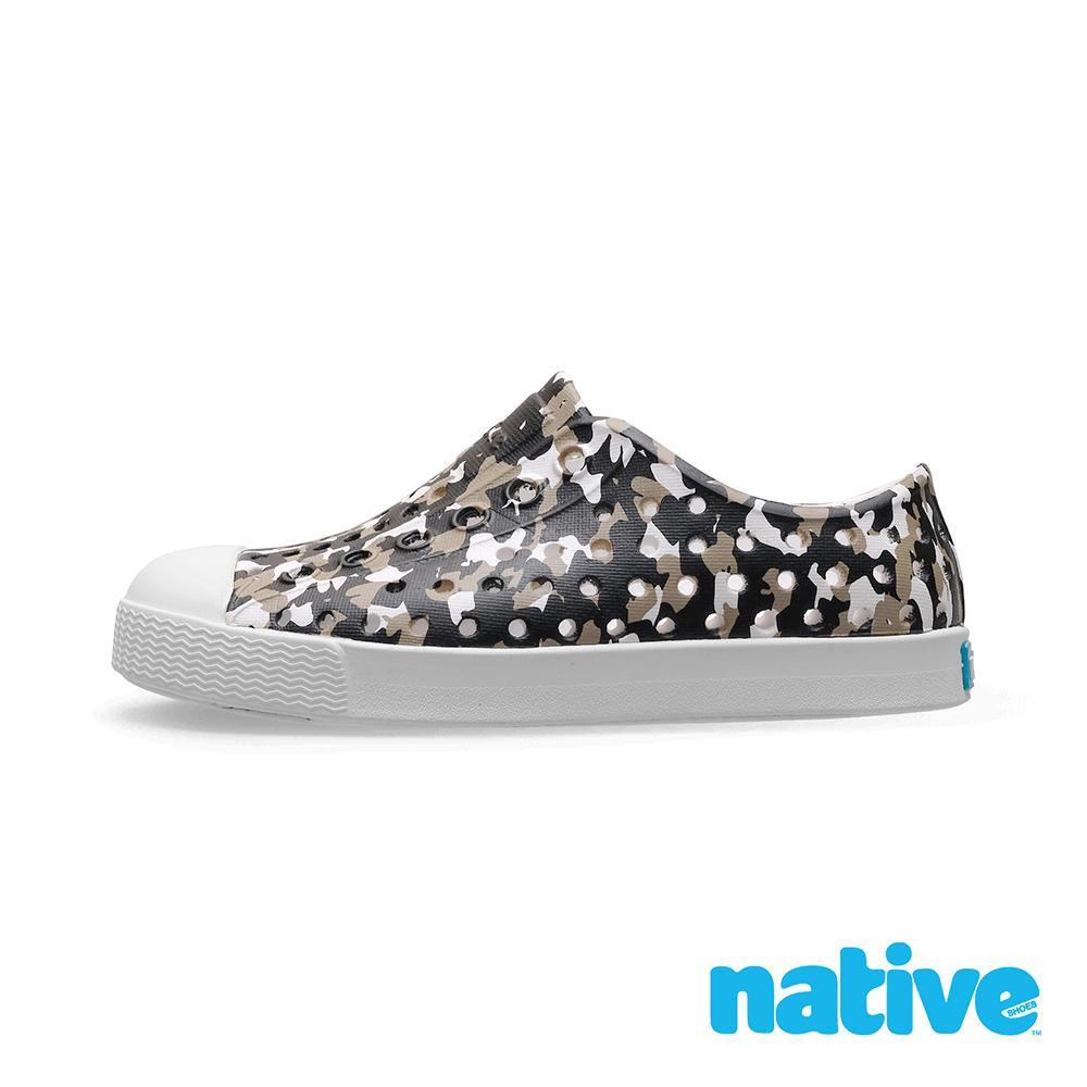 native 小童鞋 JEFFERSON 小奶油頭鞋-金平糖黑