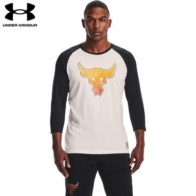 【UNDER ARMOUR】UA 巨石強森系列 男 Project Rock七分袖上衣T-Shirt