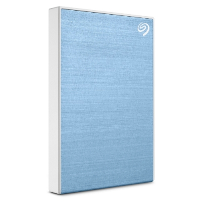 Seagate Backup Plus Slim 2.5吋 2TB 行動硬碟(冰川藍)