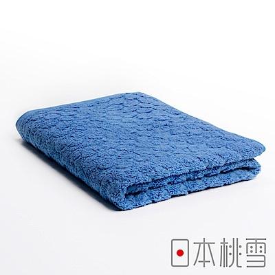 日本桃雪 今治雪球浴巾(雪藍色)