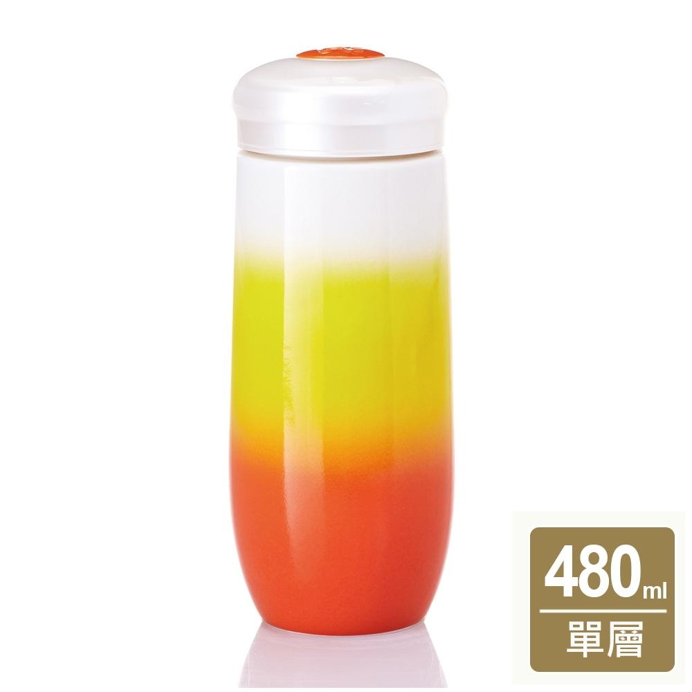 乾唐軒活瓷 精彩隨身杯480ml(4色任選)