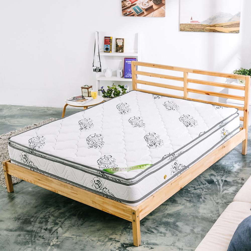AVIS 艾維斯 艾薇舒柔乳膠四線強化支撐獨立筒床墊-單人 3.5尺