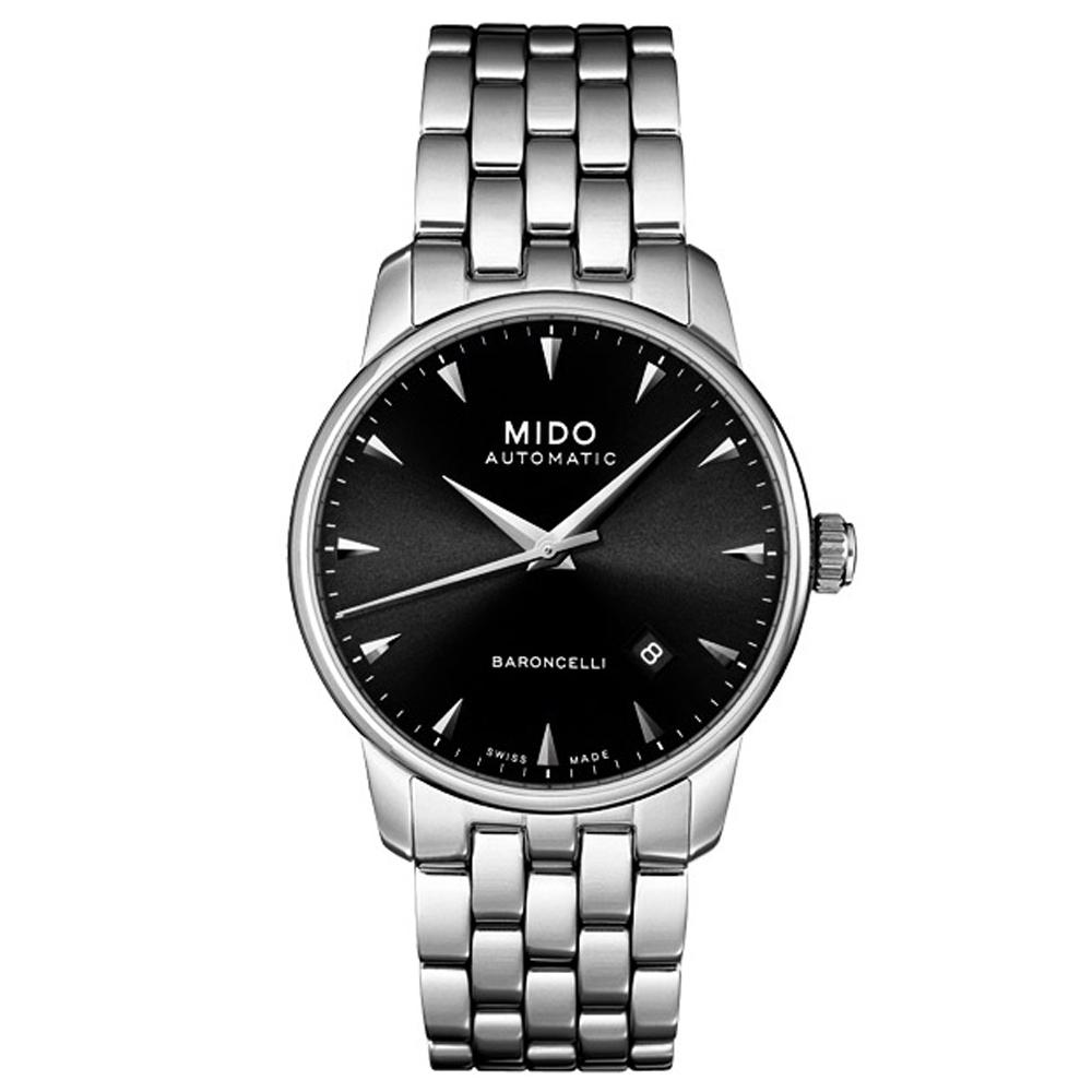 MIDO Baroncelli 尊爵紳士機械錶-鋼帶/38mm M86004181