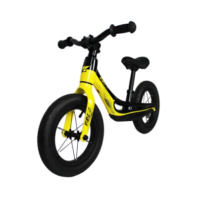 KREX 雙色輕量兒童滑步車 黑黃
