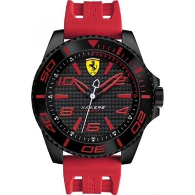 FERRARI 法拉利決定速度運動腕錶/紅/0830308
