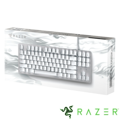 Razer BlackWidow Lite Mercury 黑寡婦輕裝版 電競鍵盤(英文)