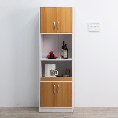 [時時樂限定]TZUMii米斯高四門二格廚櫃58*39.2*182.2cm