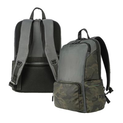 TUCANO Terras Camouflage 16吋時尚減壓商務後背包 迷彩軍綠