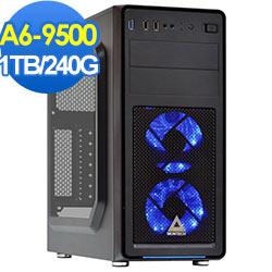 技嘉A320平台-星魂刀神-A6雙核效能電腦