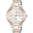 ALBA雅柏 ACTIVE系列運動女孩時尚腕錶/36mm