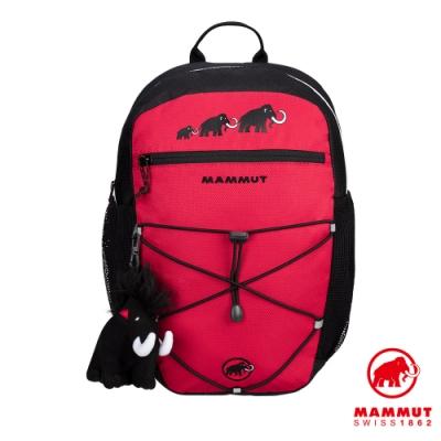 【Mammut 長毛象】First Zip 16L 多用途兒童後背包 黑/地獄紅 #2510-01542