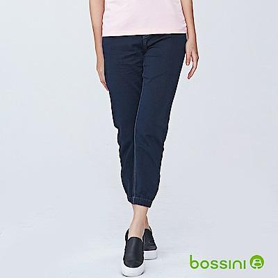 bossini女裝-束口牛仔褲01霧靛藍