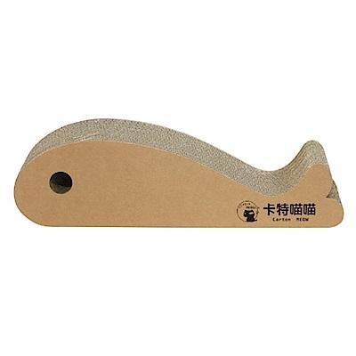卡特喵喵《貓吃大魚》造型貓抓板