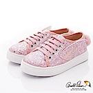 雨傘牌 閃亮兔兔休閒鞋款 EI93550粉紅(中小童段)