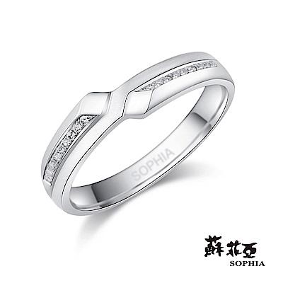 蘇菲亞SOPHIA 鉑金戒指-悸動鉑金鑽石女戒