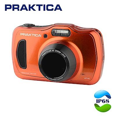 德國柏卡PRAKTICA WP240 防震防塵全能防水機 橘色