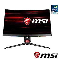 [無卡分期12期]MSI微星Optix MPG27CQ 27型1800R WQHD曲面螢幕
