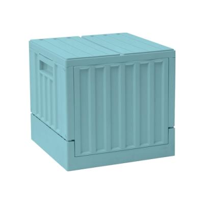 完美主義 方型貨櫃椅/收納椅/收納箱/玩具收納-3入組(4色)
