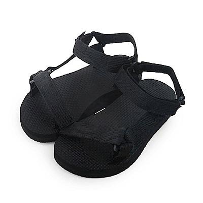 BuyGlasses 輕盈帆布工字兒童款涼鞋