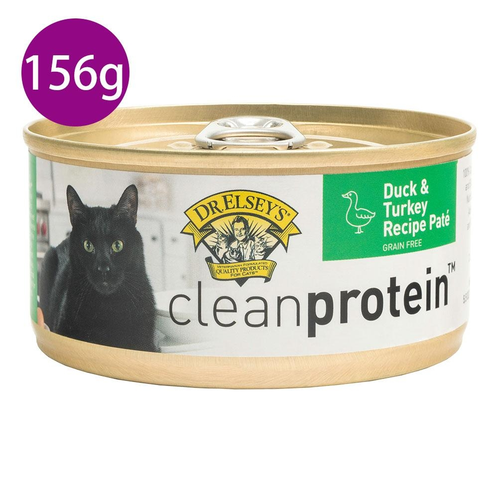 DR.ELSEY'S布魯斯艾爾博士法式鮮嫩鴨+火雞肉食譜頂級主食貓罐156g/罐