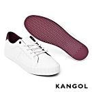 【KANGOL】皮革休閒鞋-共兩色