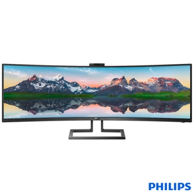 PHILIPS飛利浦 48.8吋曲面液晶螢幕 499P9H1