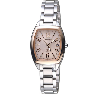 CITIZEN xC 光彩時尚電波腕錶(ES9390-57W)