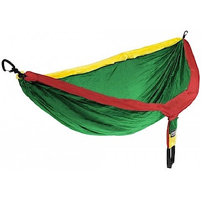 ENO DoubleNest Hammock 雙人吊床 黃/綠/紅