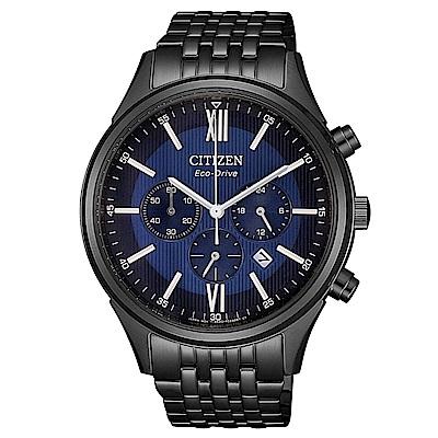 CITIZEN 超質感三眼計時光動能腕錶(CA4415-81L)