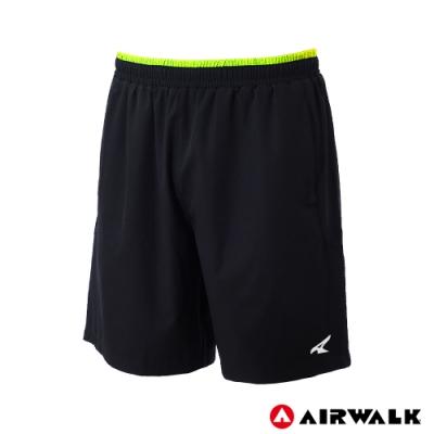 【AIRWALK】男款拼接運動短褲-共兩色