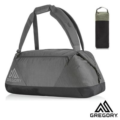GREGORY 變型蟲 Stash Duffel 45L 超輕三用式旅行裝備袋背包_陰影黑