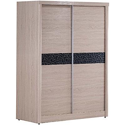 綠活居 路斯4.9尺推門衣櫃(二色+單抽屜+穿衣鏡)-146x60.6x197cm免組