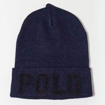 Polo Ralph Lauren 熱銷經典POLO Logo毛帽 - 深藍色