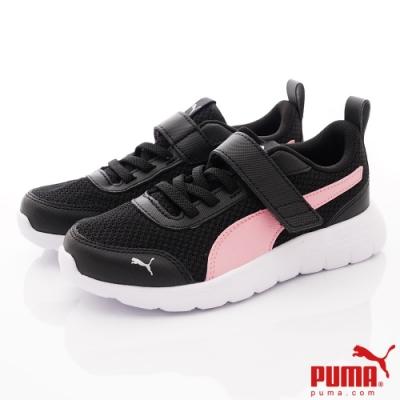 PUMA童鞋 經典流線運動鞋款 TH72081-04黑粉(中小童段)