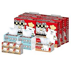 邦尼熊3合1家庭用紙組合箱130抽x60包+120抽x4包+320抽x6包/箱x2