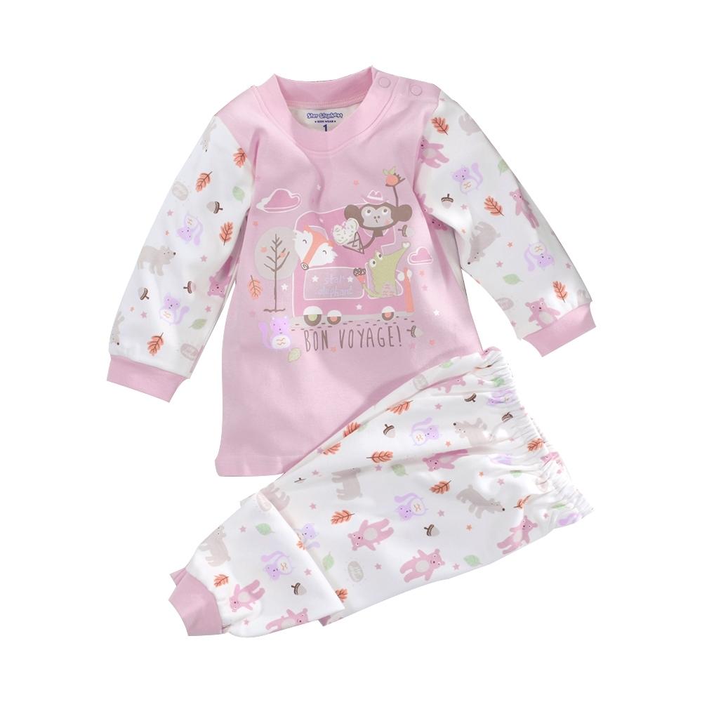 嬰幼兒台灣製純棉中厚長袖套裝 a70274 魔法Baby