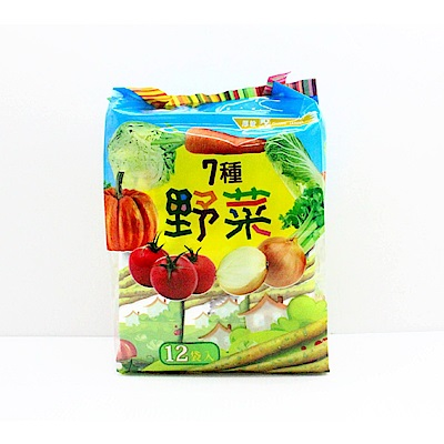 厚毅 七種野菜脆棒餅(192g)