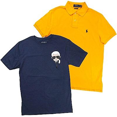 [時時樂]Ralph Lauren短袖Polo衫/Karl老佛爺短袖T(多款)