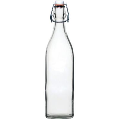 《Utopia》扣式密封玻璃水瓶(1L)
