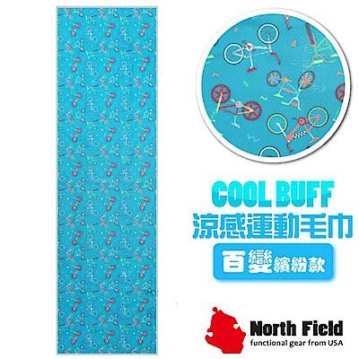 美國 North Field COOL BUFF 速乾吸濕排汗涼感運動毛巾_運動青春