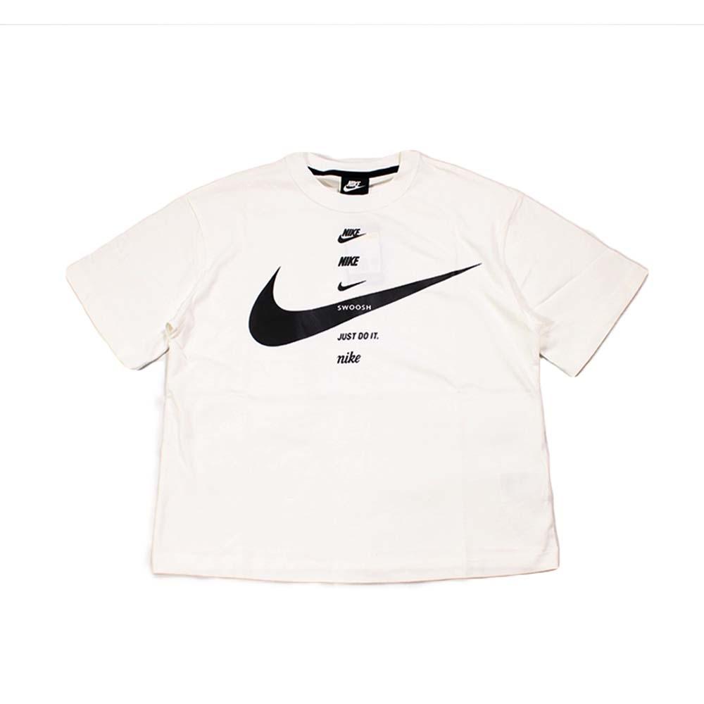 Nike 女 AS W NSW SWSH TOP SS 圓領T(短)