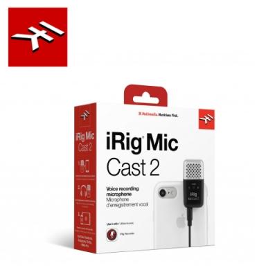 IK Multimedia iRig Mic Cast 2 超小型錄音麥克風二代