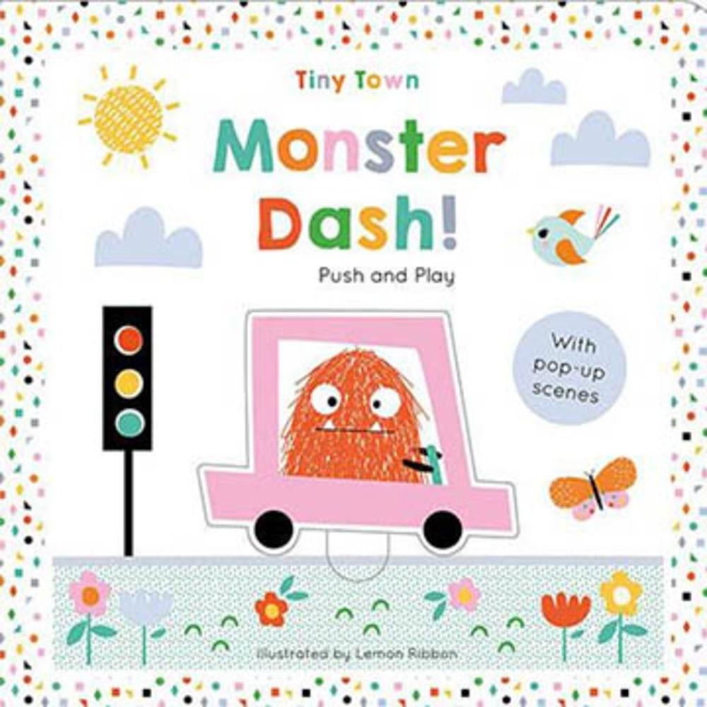 Monster Dash! 怪獸開車記立體主角書