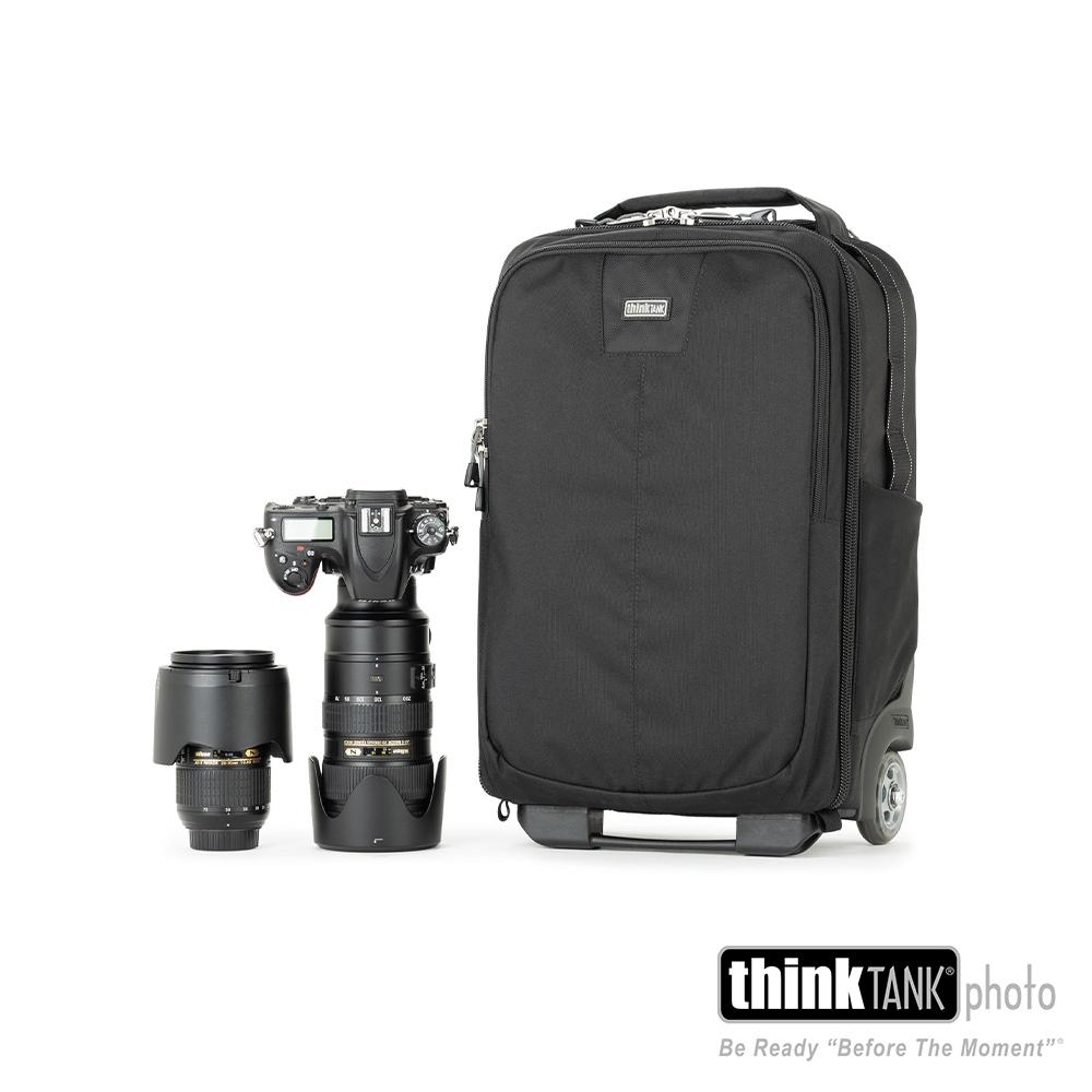 thinkTank 創意坦克 Airport Essentials Rolling Backpack 輕型旅遊行李箱-TTP730511