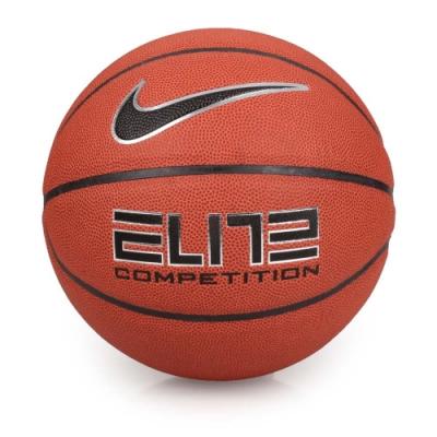 NIKE ELITE COMPETITION 8P 2.0 7號籃球 暗橘黑銀